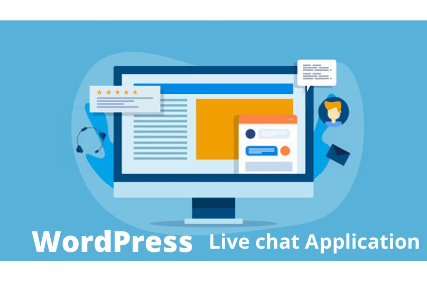 Install Live chat application to your WordPress website