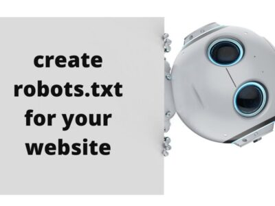 robots.txt file for your website