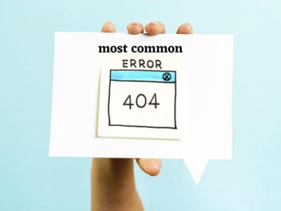 most common HTTP Errors