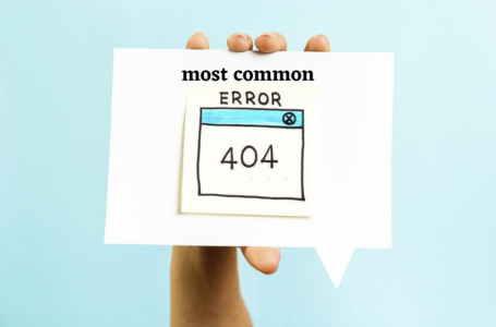most common HTTP Errors