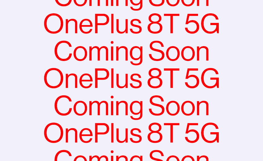 One Plus 8T Launch officially confirmed