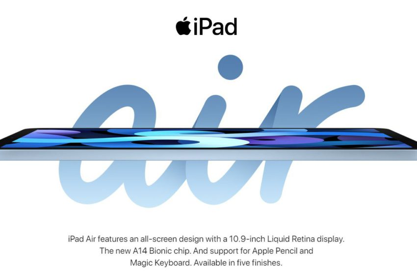 New iPad Air and iPad 8th Generation launched