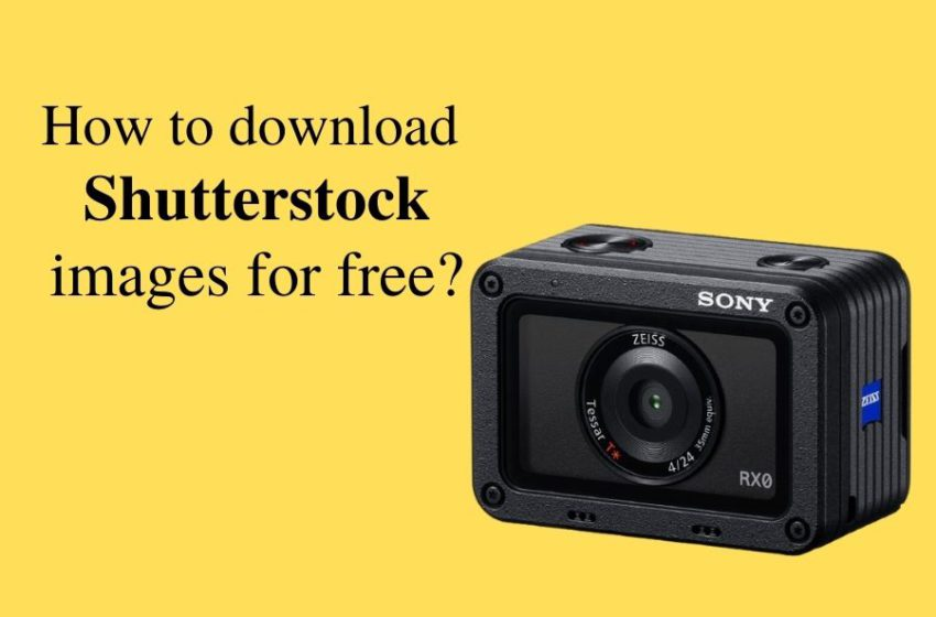 How to download Shutterstock images without watermark for free