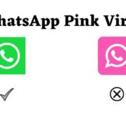 WhatsApp Pink virus
