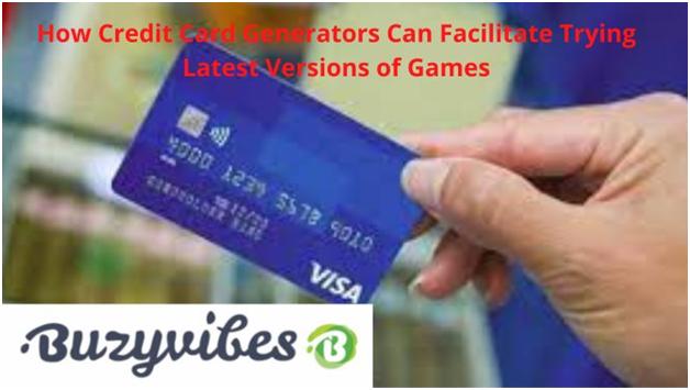 Credit Card Generators Great for Gamers
